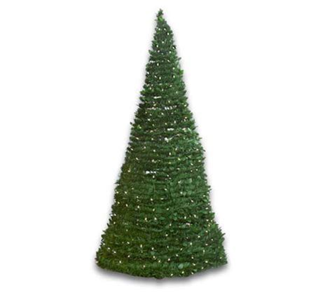 indoor outdoor 6 pre lit pull up christmas tree qvc com