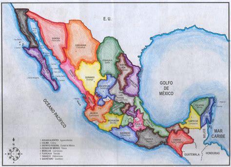 geografia de mexico mapa de m 233 xico geograf 237 a y tic pinterest