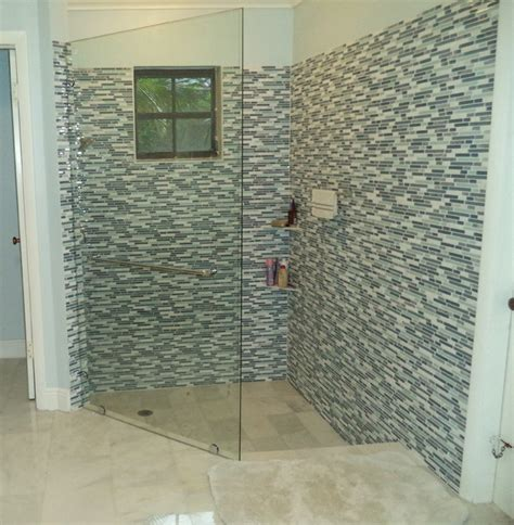 glass shower panels for bathrooms coral gables fixed glass shower panel transitional