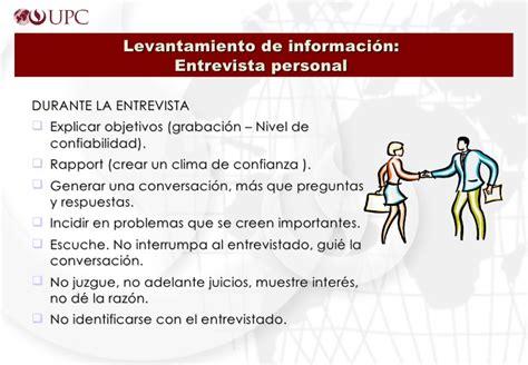 preguntas de entrevista personal 1 entrevista de personal perfiles y manual de