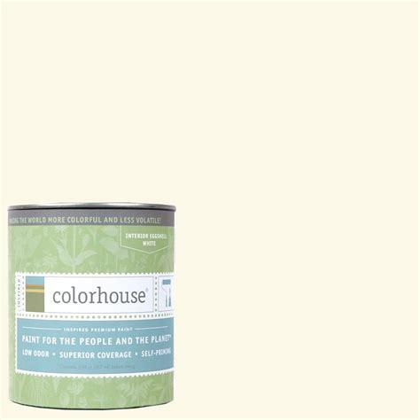 colorhouse paint colorhouse 1 qt air 01 eggshell interior paint 662113
