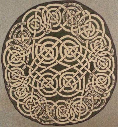 celtic knot style rug celtic and