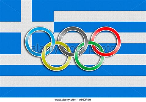 Greek Olympics Symbol