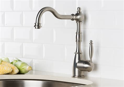 victorian style kitchen faucets hahn victorian single lever classic kitchen faucet