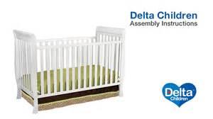 delta children charleston glenwood 3 in 1 crib assembly