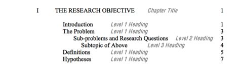 dissertation subheadings dissertation formatting guidelines doctoral studies