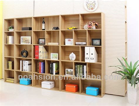 modern cheap wood melamine simple bookcases buy wall