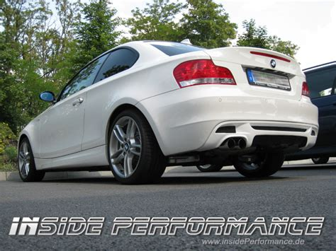 Bmw 1er Alternative by Alternative Zum Performance Diffusor Heckeinsatz 1er