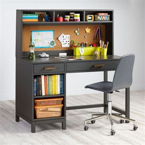 Kid Desk With Hutch Best 25 Kid Desk Ideas On Pinterest Desk Areas Homework Space And Workspace