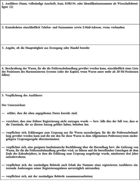 Muster Rechnung An Drittland Eur 32015r2447 En Eur