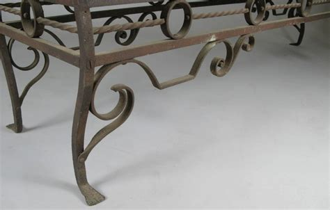 antique wrought iron bench antique 1920s wrought iron bench at 1stdibs