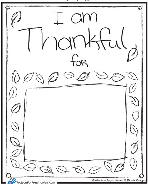 6 best images of i am thankful for placemat printable i