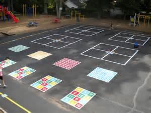painting playground markings