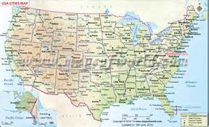 map of usa showing all states and cities usa cities map us map with cities just lil things i