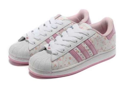 shoes pink adidas adidas superstars  butterfly girl
