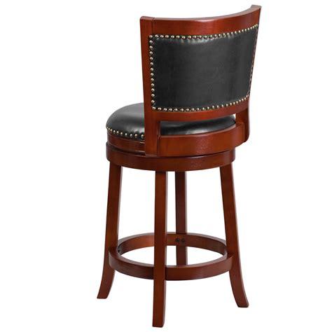bar stools cherry wood 26 high dark cherry wood counter height stool w walnut