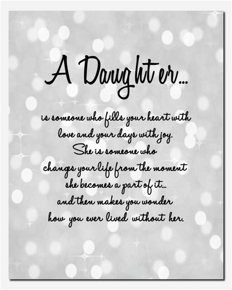 printable daughter quotes daughter print gift for daughter wedding birthday by