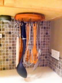 Diy Kitchen Design Ideas diy rotating cooking utensil storage rack hometalk