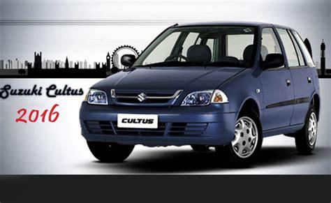 Suzuki Cultus New Model Suzuki Cultus Car Price Pictures In Pakistan Of New Model