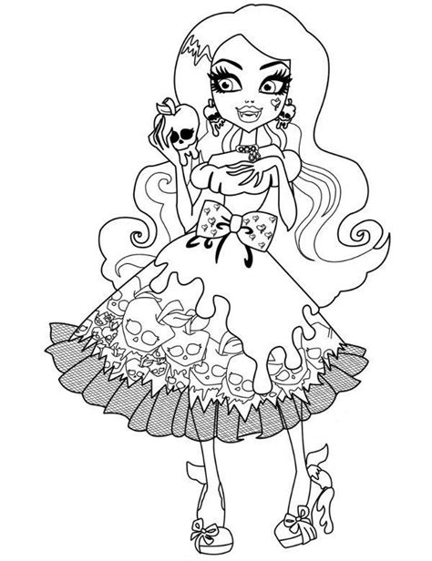 monster high dracubecca coloring pages coloring pages monster high freaky fusion lagoon coloring