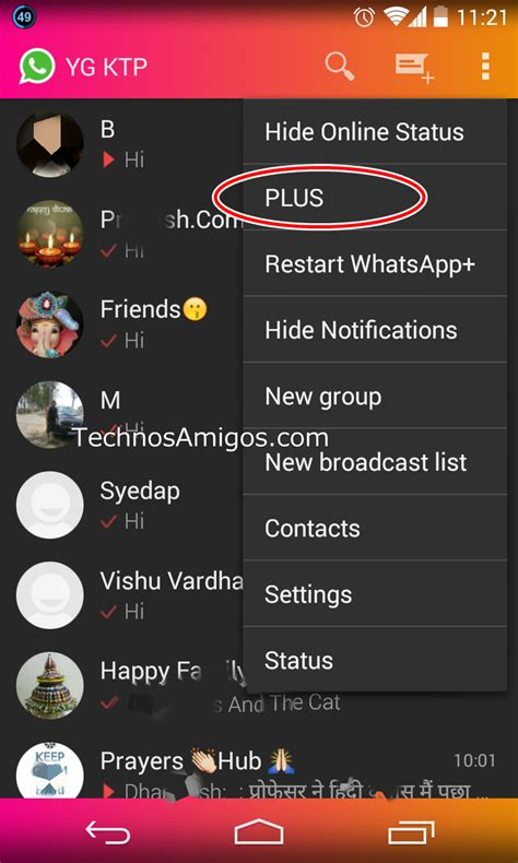 how to create themes for whatsapp plus how to change whatsapp plus themes technos amigos