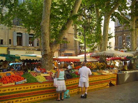 best markets in provence best markets in the
