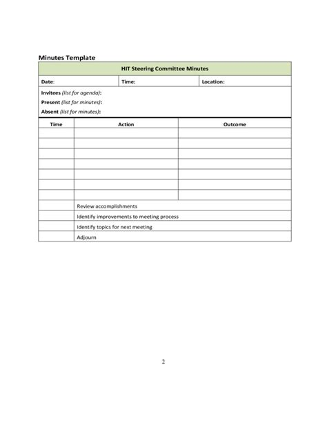 vendor meeting agenda template sle staff meeting agendas and minutes free