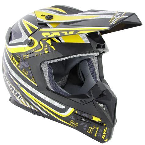 yellow motocross helmets stealth hd210 droid yellow motocross helmet mx enduro off