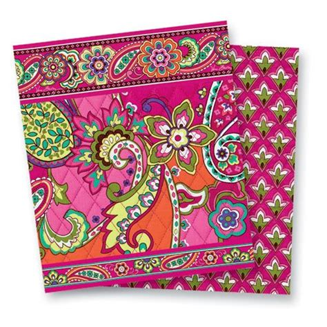 vera bradley pattern ink blue pink swirls