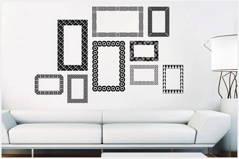 cornici adesive per pareti nessun chiodo alle pareti il progetto in una stanza