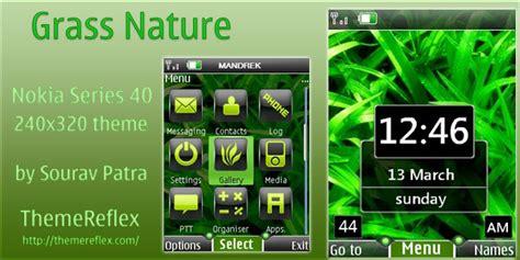 nokia e72 nature themes grass nature theme for nokia 40s 240 215 320 themereflex