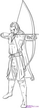 How To Draw An Elf Step By Elves Fantasy FREE Online Drawing  sketch template