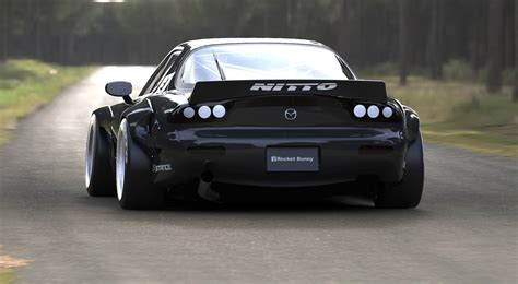 stancenation rx7 aggressive rocket bunny mazda rx7 fd stancenation