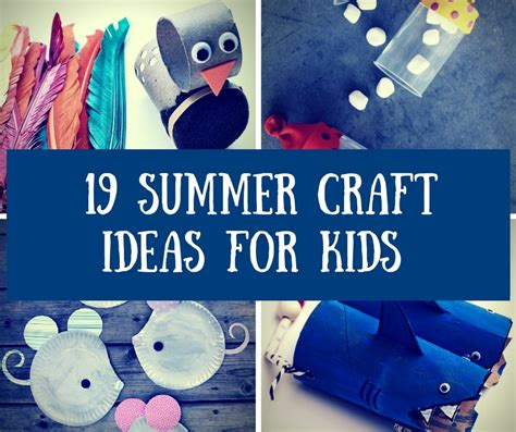 easy crafts for summer 19 easy to make summer crafts for homelovr
