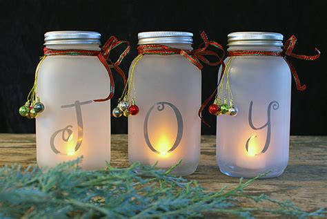 diy jar decorations diy jar luminaria the budget decorator
