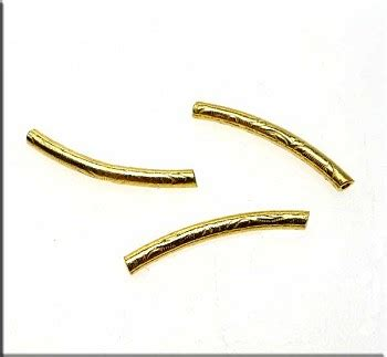 noodle curved vermeil noodle curved patterned 21mm 2