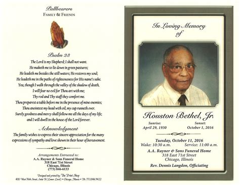 houston bethel jr obituary aa rayner and sons funeral home