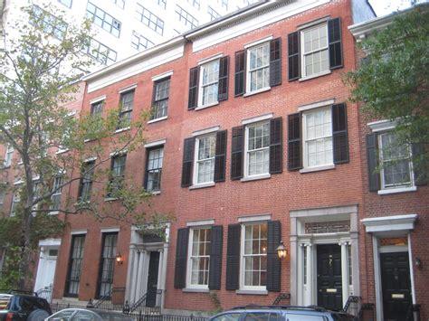 new york house federal style houses new york city ephemeral new york