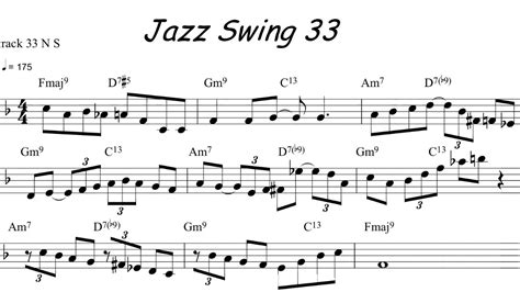 jazz swing standards jazz sax riff of the day youtube