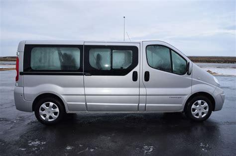 renault trafic 9 passenger van iceland van rental renault traffic 9 seats