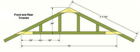 unique shed roof plans 10 shed roof truss design 10 215 12 storage shed plans blueprints for constructing a