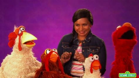 mindy kaling elmo mindy kaling and elmo are undeniably enthusiastic
