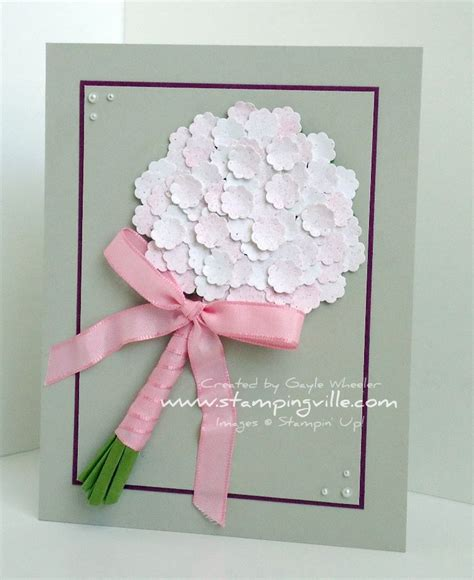 Handmade Greeting Cards For Wedding - wedding bouquet handmade greeting card cards any