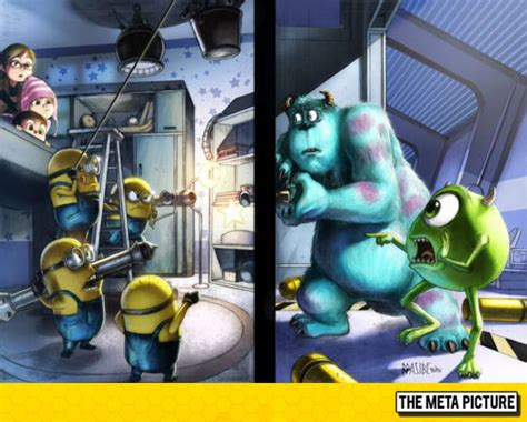 Monsters Inc Closet by When Two Worlds Meet