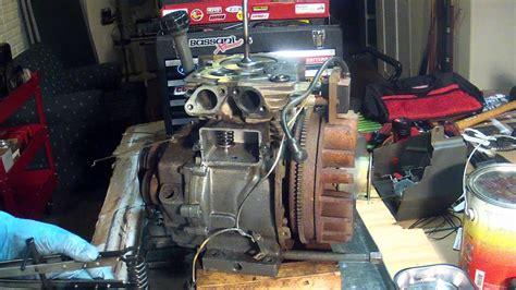 tecumseh hm engine part  valve installation youtube