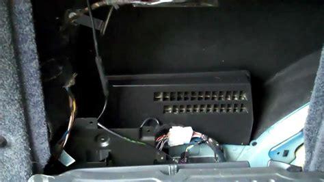 range rover  audio amp location youtube