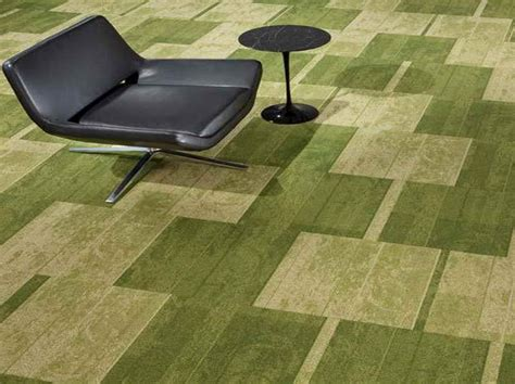 carpet floor installation tiles ideas with green color