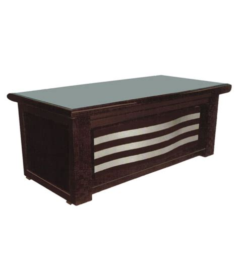 office tables pasco trendy wooden office table brown buy online at best