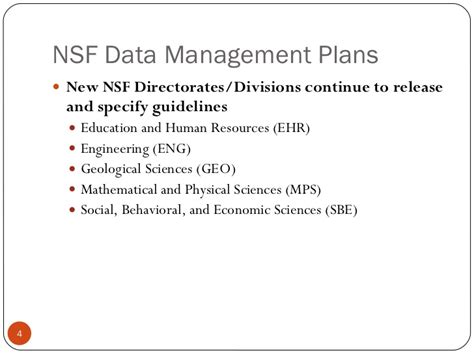 Sallans Rdap11 Nsf Data Management Plan Case Studies Nsf Data Management Plan Template