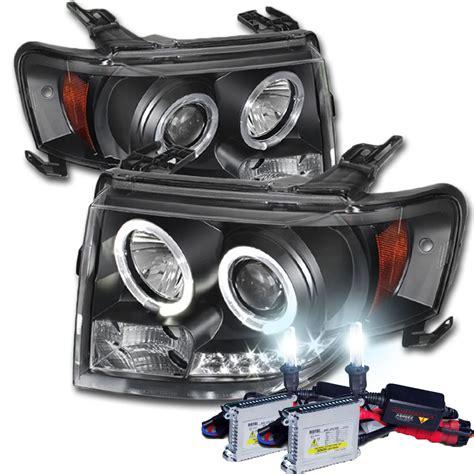 Lu Hid Xenon Light hid xenon 08 12 ford escape eye halo led